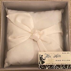 Ring Bearer Pillow 8x8 - Bridal / Wedding